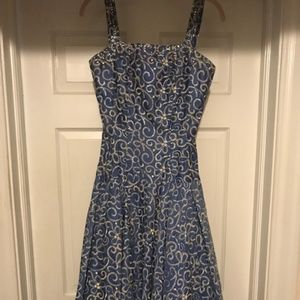 Dresses & Skirts - 1950s Authentic Vintage Original Fit & Flare Dress